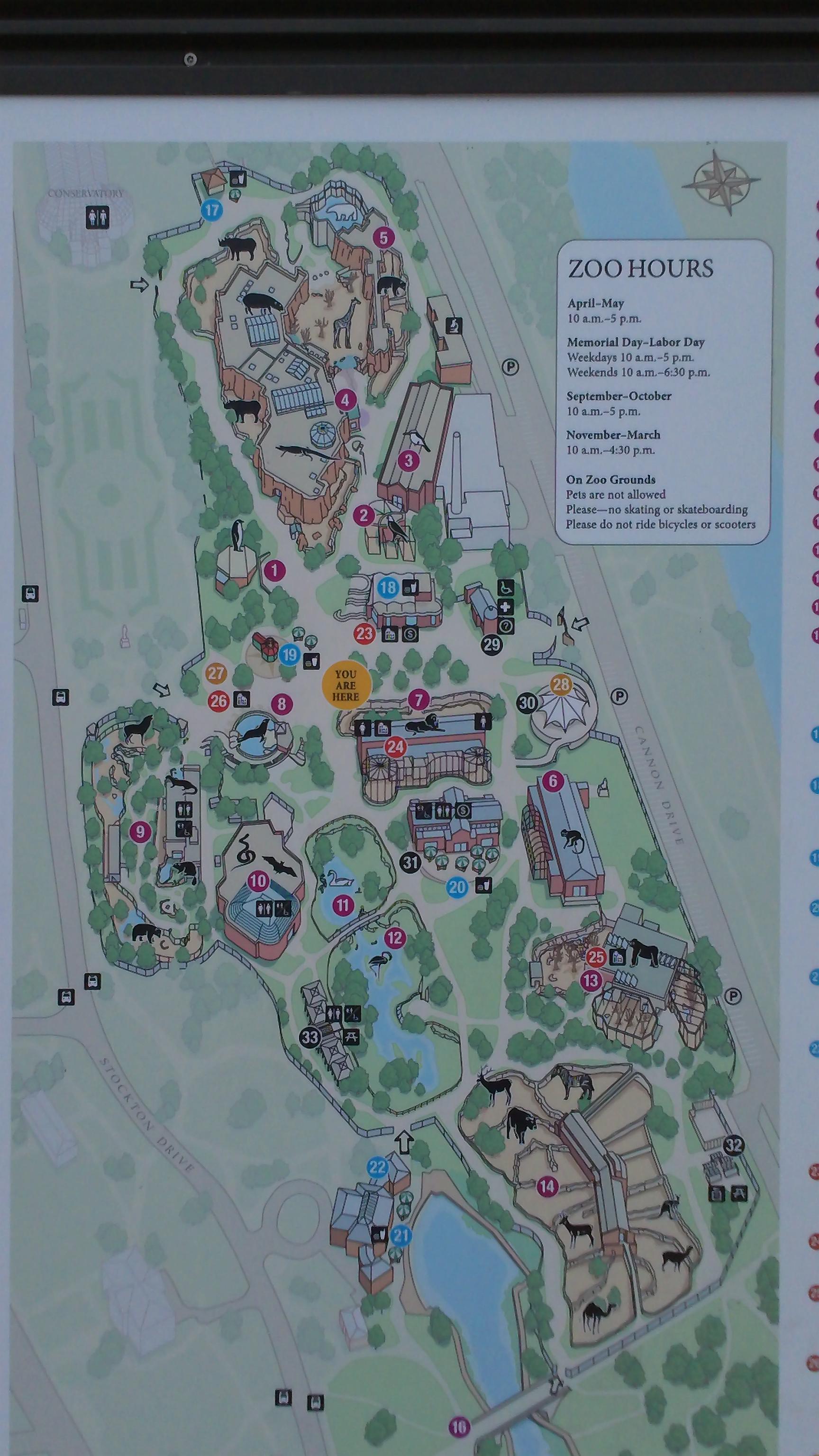 Lincoln Park Zoo Map Gary Jones 31