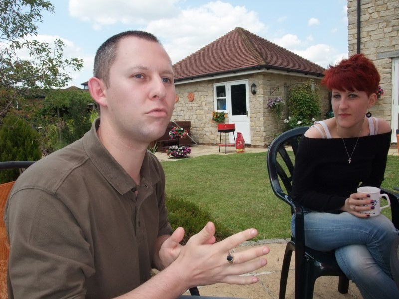 Gary and Tash